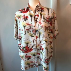 Vintage woman's Guess shirt.